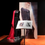 Ausstellungsansicht: Lisbet und Robert J. Schläpfer Textile Innovationen 1965-1995 - Textilmuseum St.Gallen