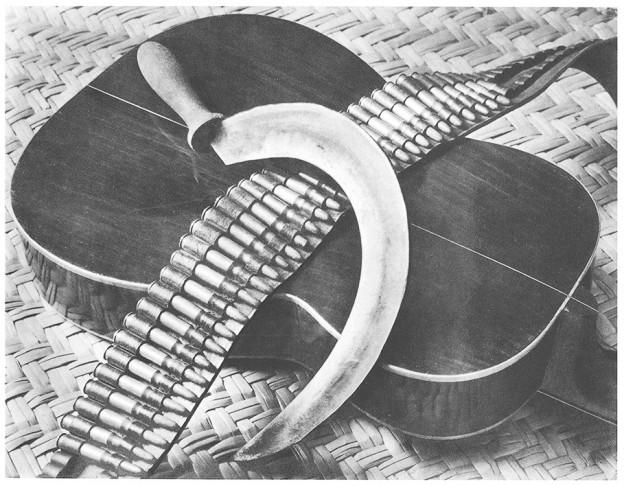 Illustration für ein mexikanischen Lied - Foto Tina Modotti 1927