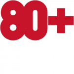 Ausstellung 80 plus - Logo