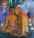 Paul Gauguin: Contes Barbares, 1902. Barbarische Erzählungen, Öl auf Leinwand, 131,5 x 90,5 cm, Museum Folkwang, Essen. Foto: © Museum Folkwang, Essen