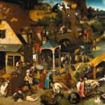 Pieter Bruegel der Ältere: Die niederländischen Sprichwörter