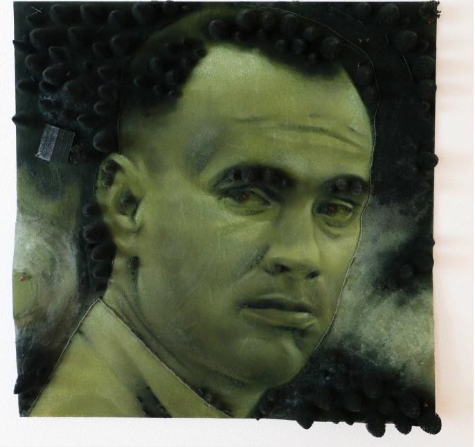 Forrest Gump | 2015 | 130 x 130 cm | Modellbau