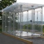 Olaf-Nikolai-Baraque-de-Chantier-2003:2015-Transparentes-Acrylglas