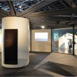 Interior view, Jean Prouvé: Total Filling Station, 1969. Design Miami / Basel