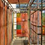 Alan Shields: Maze, 1981. Courtesy Van Doren Waxter at Art Basel Unlimited 2016