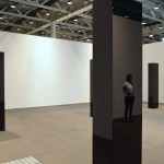 John McCracken: Six Columns, 2006. Courtesy David Zwirner at Art Basel Unlimited 2016