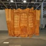 Heidi Bucher: Bellevue (kleines Glasportal), 1988. Courtesy The Approach at Art Basel Unlimited 2016
