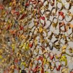 El Anatsui: Gli (Wall), 2010. Courtesy Jack Shainman Gallery at Art Basel Unlimited 2016