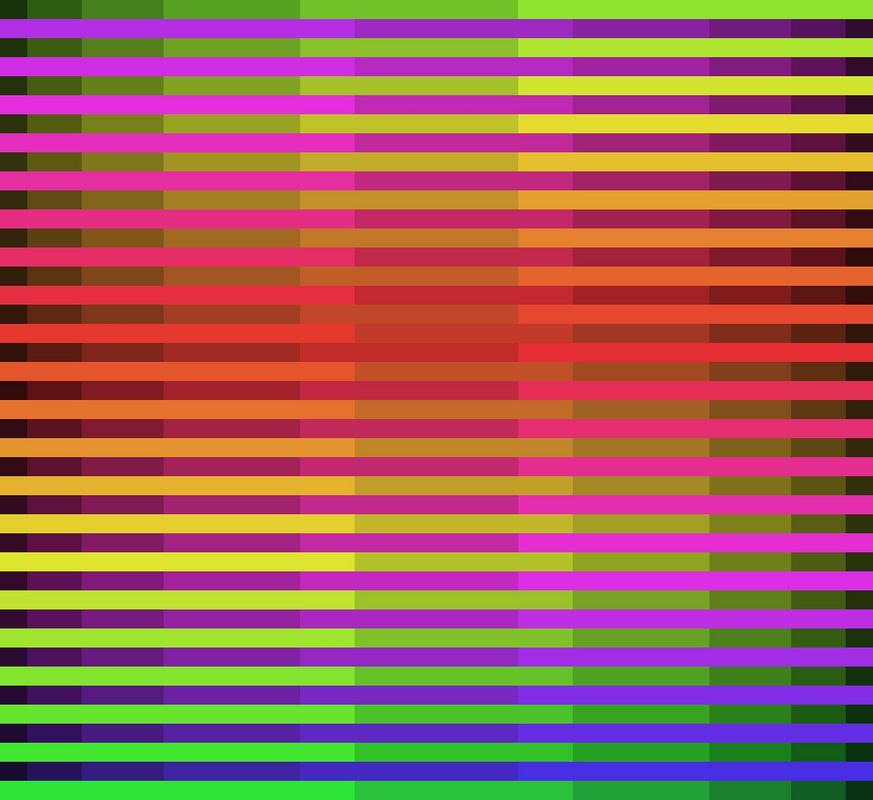 Bruno Kaufmann: 140715 Fibonacci-Structure 02A, 120 x 110 x 2 cm