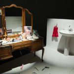 Mac Adams: The Bathroom, 1978. Installation view @ Art Basel Unlimited 2017
