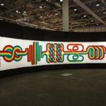 Julio Le Parc: La longue marche, 1974. Installation view @ Art Basel Unlimited 2017
