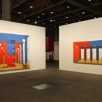 Thomas Huber: vis-à-vis, 2014. Installation view @ Art Basel Unlimited 2017