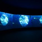 Doug Aitken: Underwater Pavilions, 2017. Installation view @ Art Basel Unlimited 2017