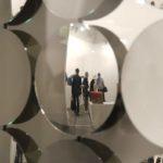 Art is a mirror for society. Adolf Luther: Hohlspiegelobjekt, 1966 @ von Bartha, Art Basel 2017