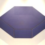 Rodolfo Arico: Assonometria blu, 1970 @ Luxembourg & Dayan, Art Basel 2017