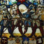 Wappenscheibe der Zunft zum Grimmen Löwen
