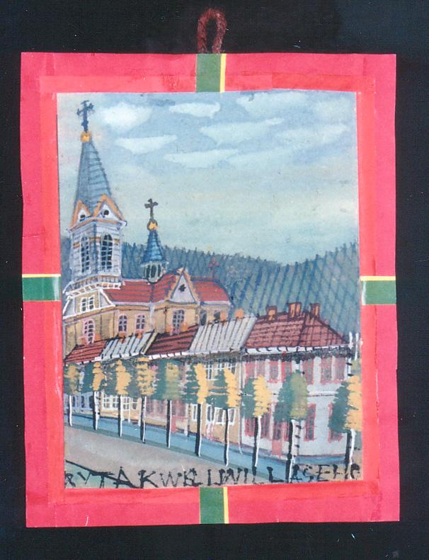 Bild zur Ausstellung von Nikifor