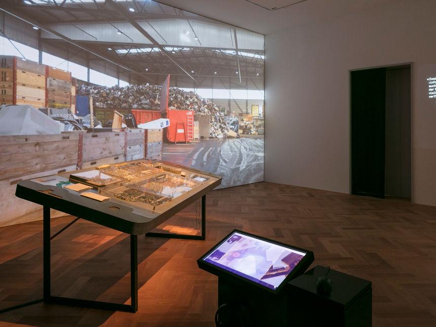 Bild zur Ausstellung Times of Waste