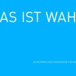 Was ist wahr_Kunstpreis der Erzdioezese Freiburg_Schriftzug