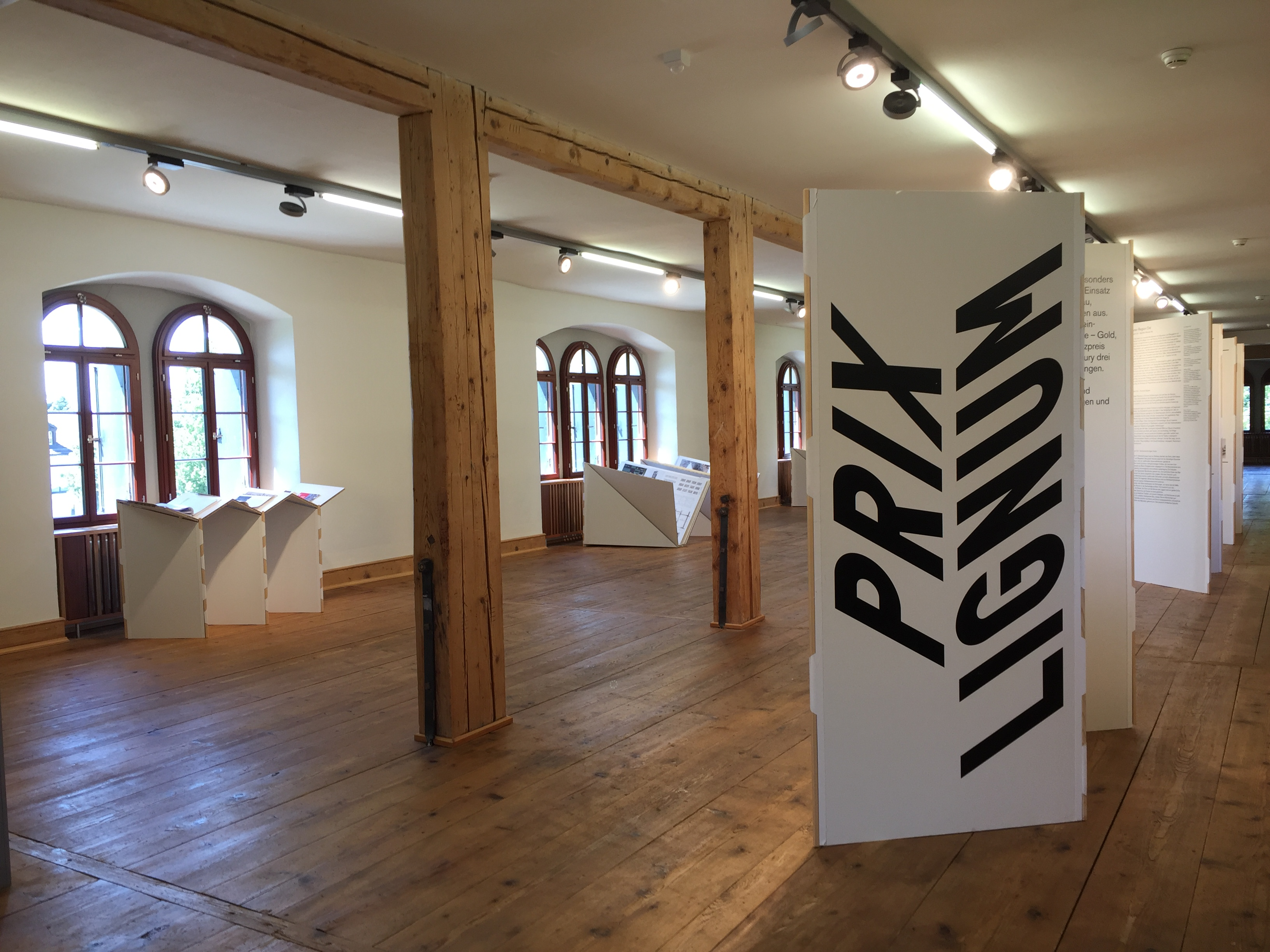 Bild zur Ausstellung Prix Lignum