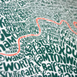 Bild zur Ausstellung Typografische Karten und Limitierte Editionen