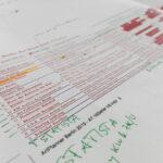 ArtPlanner Berlin Vorabdruck mit Handkorrekturen
