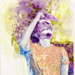 "Rachel Lumsden, ""Sound of Pleiades"", 2018, 210 x 170 cm, Öl auf Leinwand, Kunstmuseum Thurgau"