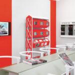 Alexander Rodtschenkos Arbeiterclub. Installationsansicht Kunstmuseum Liechtenstein, Vaduz