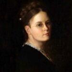 "Mathilde van Zuylen, ""Selbstbildnis"", undatiert / um 1870, Öl auf Leinwand, Kunstmuseum Thurgau"