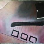 Inka ter Haar, we come in pieces (3 3, Tryptichon), 2020. Foto- Inka ter Haar