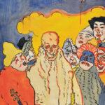 James Ensor, Les masques et la mort, 1898 Kunst Museum Winterthur 2021